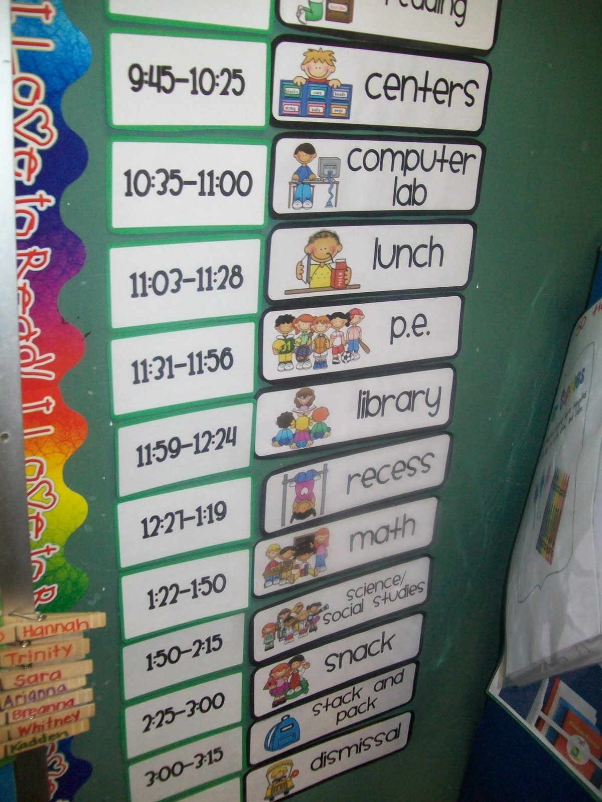 Classroom Schedule Ideas : This is how we do it mrs barker s st grade smarties