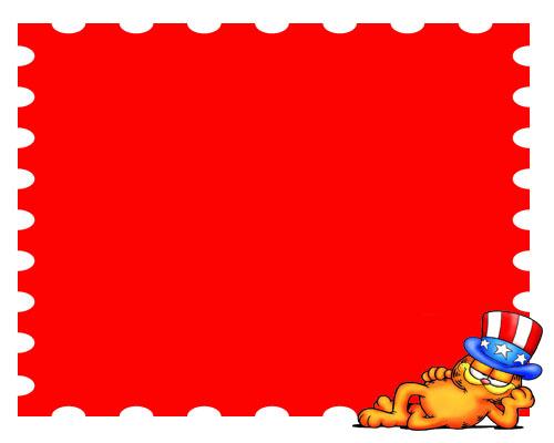 Tema PowerPoint Garfield