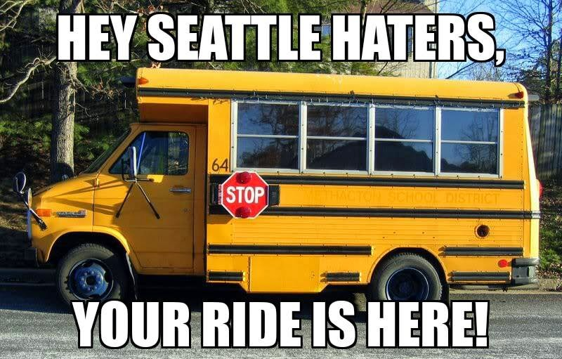 hey seattle haters, your ride is here! - #seattlehaters #cowboyshaters #DallasCowboys
