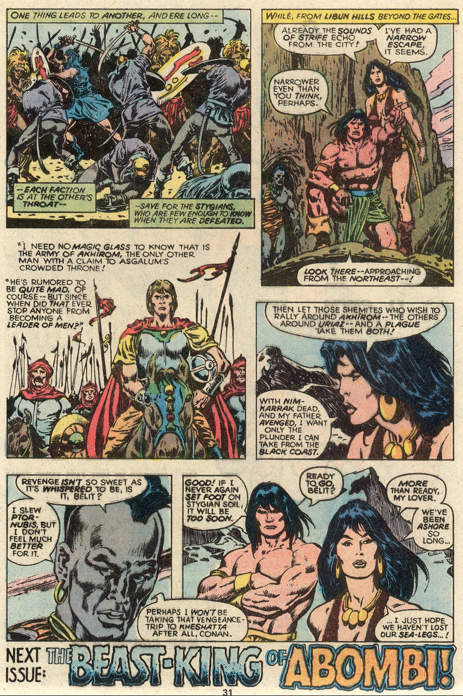 Conan the Barbarian (1970) Issue #93 #105 - English 18