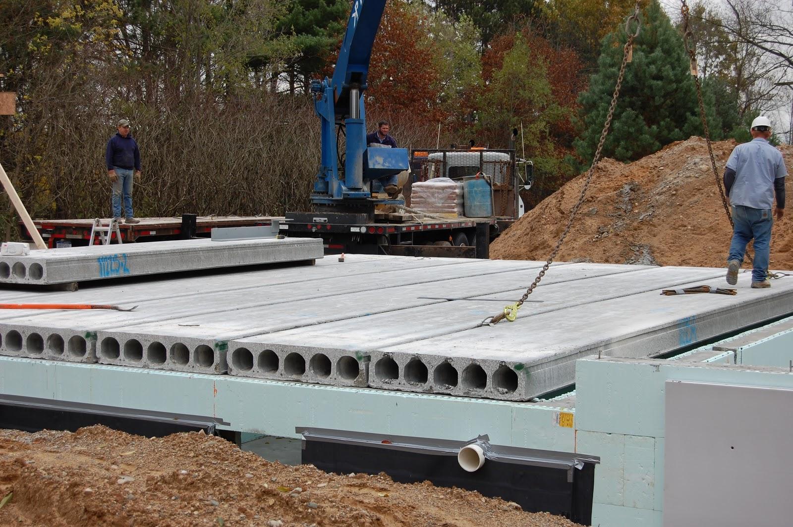 Precast Concrete Planks : The sumac grove precast and backfill in pictures