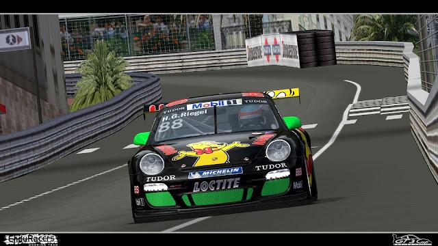 Porsche en accion