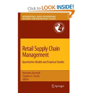 Logistics4-1: Retail Supply Chain Management Quantitative Models and