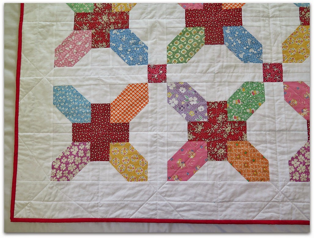 Emily 39 s baby quilt the needles excellency for Floor quilt for babies