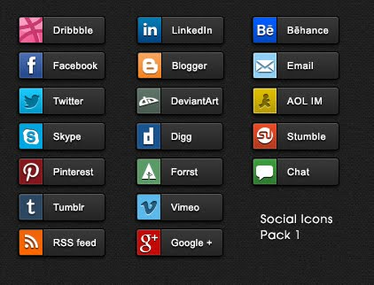 Social Buttons Screenshot