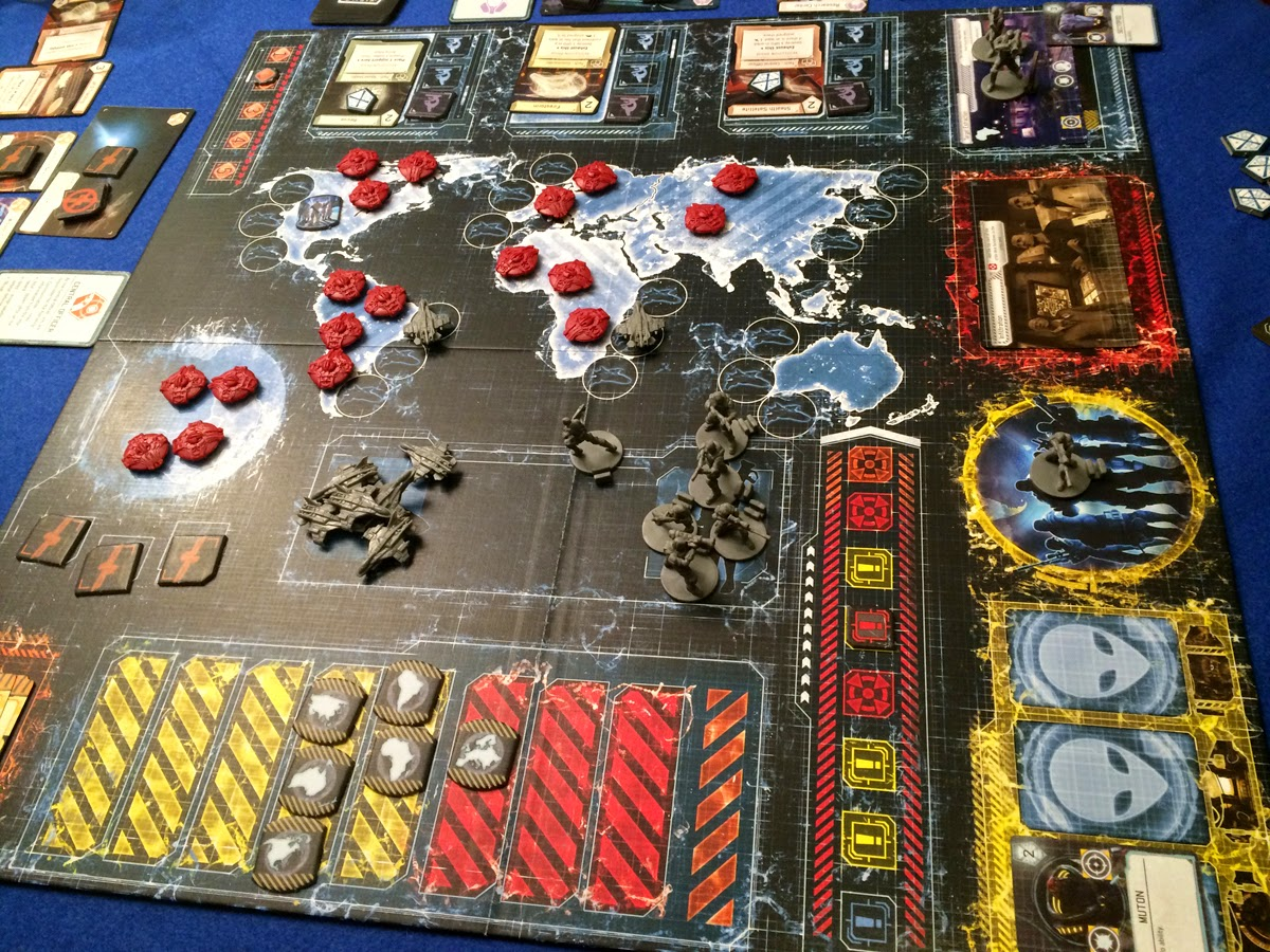 Aliens are coming XCOM: The Board Game