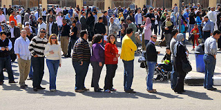 Egyptians abroad register to vote for upcoming constitutional referendum