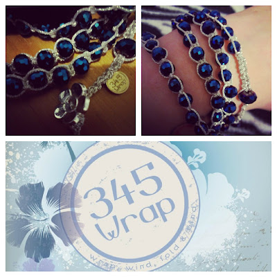 345 wrap blue bracelet review Balanga Group