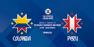 Colombia vs Perú en vivo | Domingo 21 junio del 2015 | Copa América Online