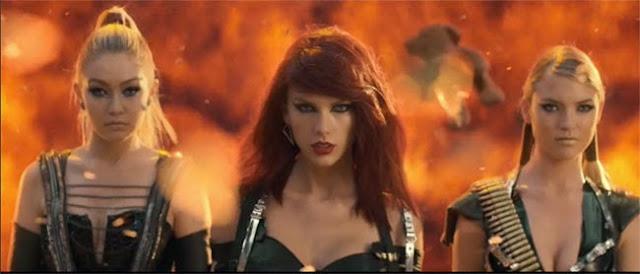 Taylor Swift a depășit recordul lui Vevo cu noul videoclip 'Bad Blood'
