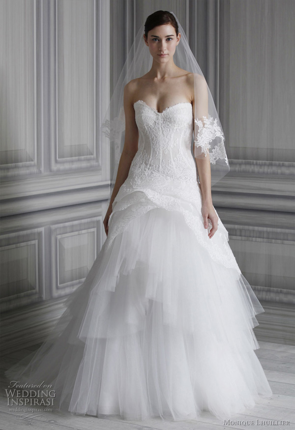 Monique Lhuillier Wedding Dresses - Monique Lhuillier Wedding Gowns,