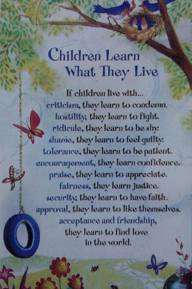 Children Learn...