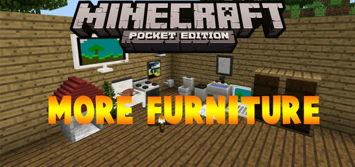More Furniture Mod Minecraftpe Template 1