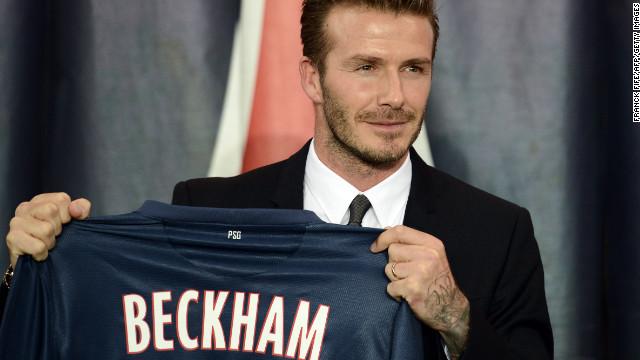 David Beckham Pemain Bolasepak Paling Mahal di Dunia