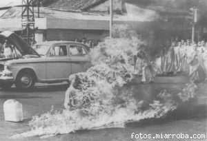Suicidio del primer monje budista que llegó a quemarse vivo como protesta