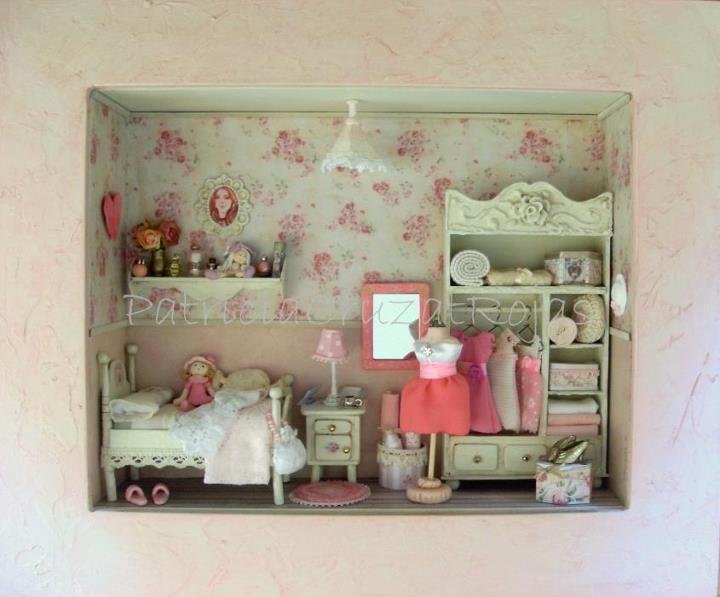 Patricia cruzat artesania y color dormitorio rosa - Habitacion desocupada ...