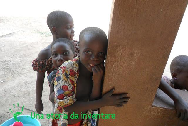 I bambini della Missione in Togo