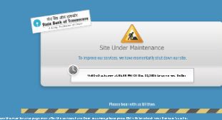 State bank internet banking issue
