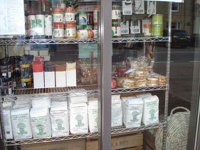 The window of the Delicatessen