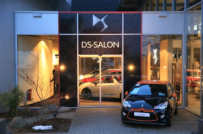 First CITROËN DS SALON in Aachen, Germany