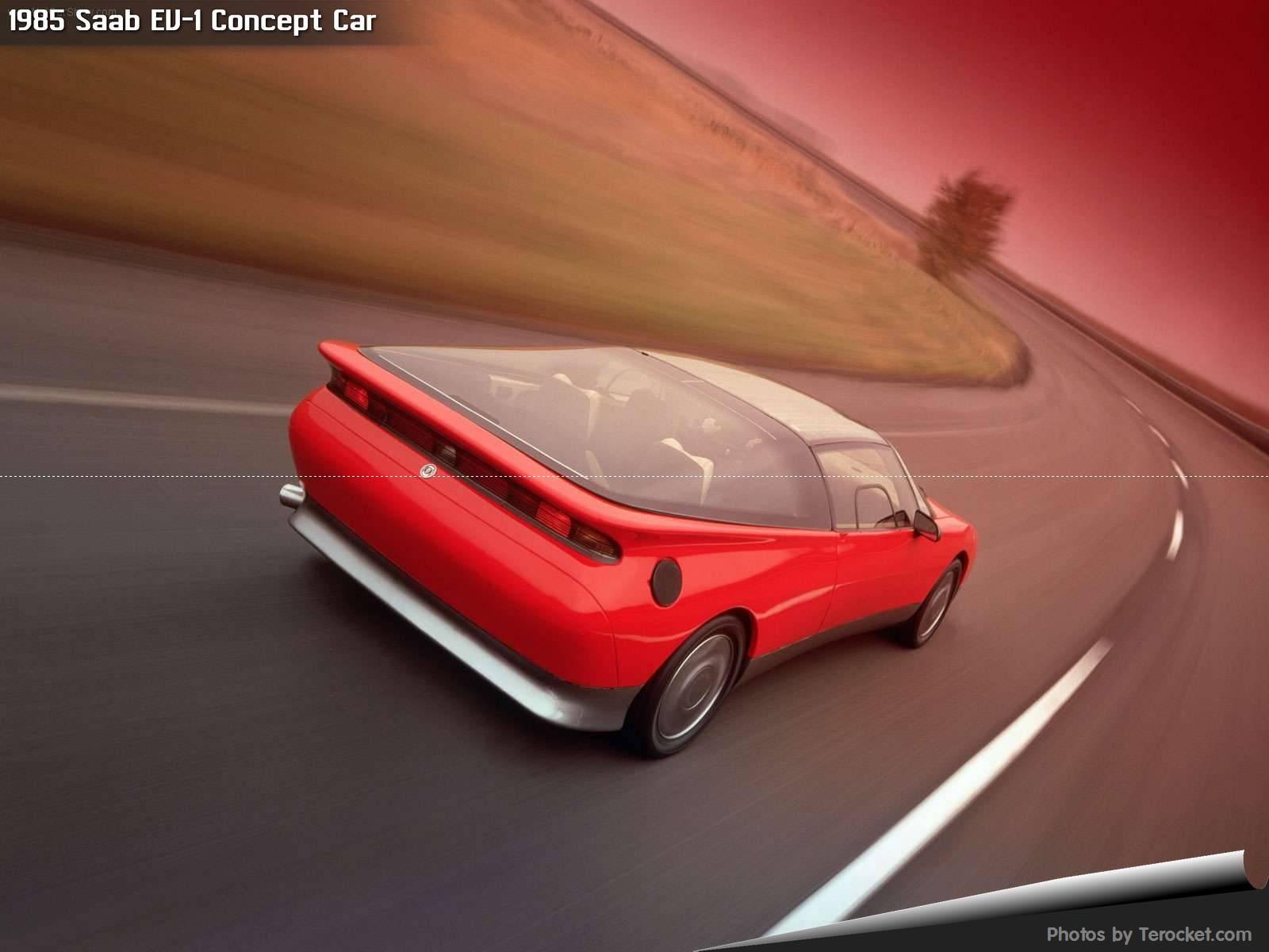 Hình ảnh xe ô tô Saab EV-1 Concept Car 1985 & nội ngoại thất