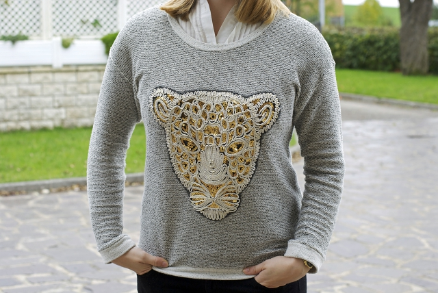 kenzo dupe tiger sweater sequins primark