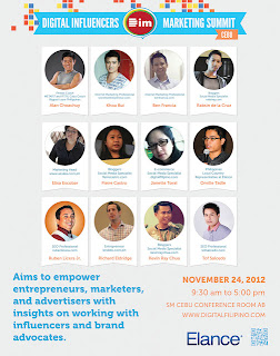 The 2012 Digital Influencers Marketing Summit - Cebu