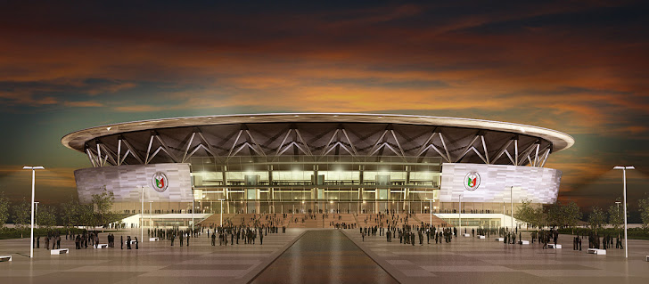Night View of Philippine Arena