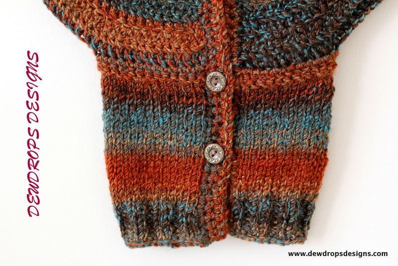 Dewdrops Designs Crochet Knit Top