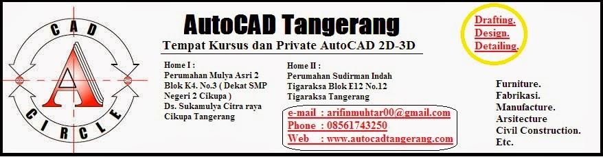 Kursus AutoCAD Daerah Tangerang