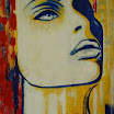Πίνακες του Αντώνη Μαλαβάζου: Γυναίκες Αρ. 158