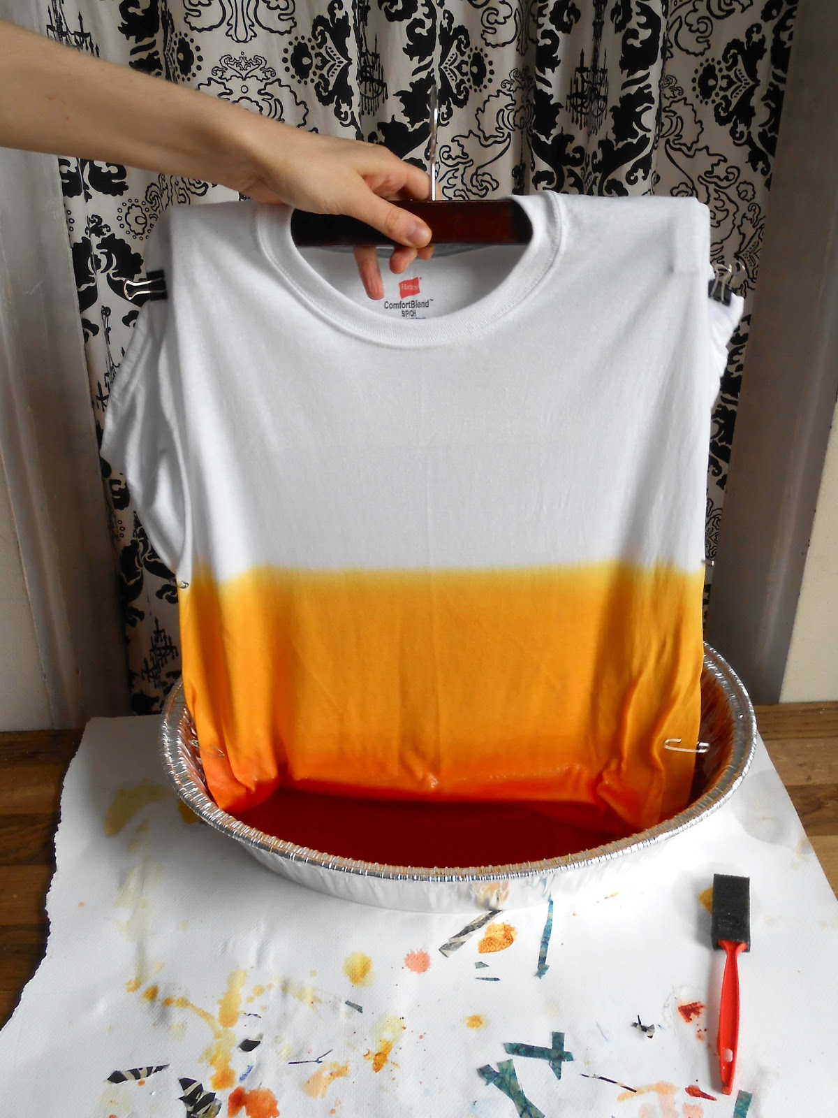 how to stop dye coming out of clothes