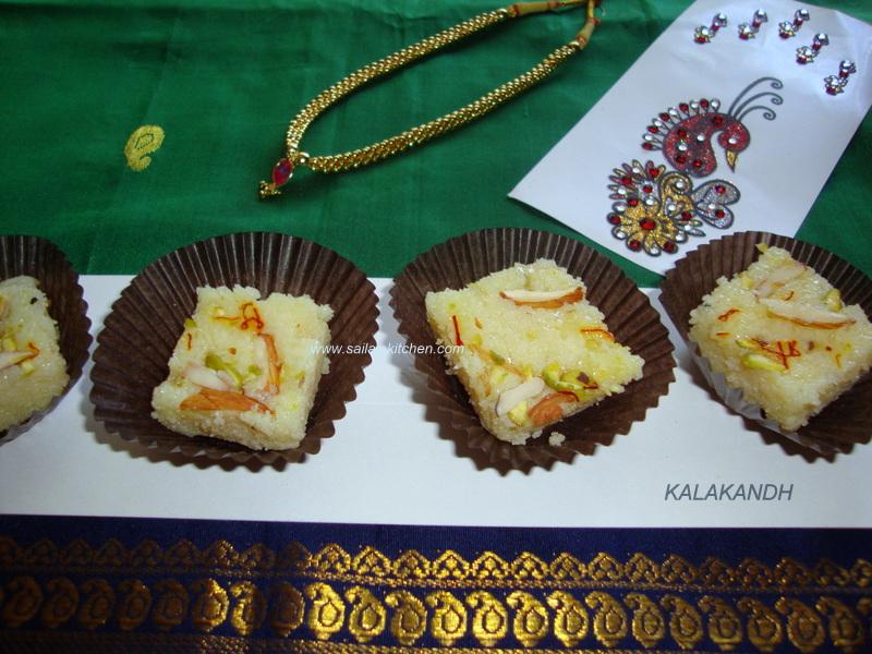 Sailaja kitchena site for all food lovers kalakand in microwave images for kalakand in microwave kalakand recipe quick kalakandh indian milk burfi recipe forumfinder Choice Image
