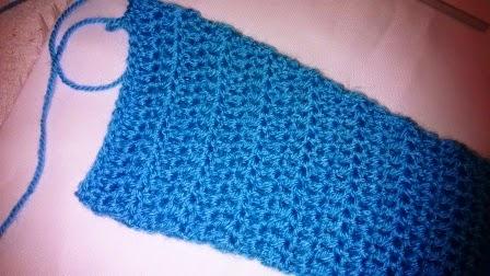 Manga al crochet para rebeca