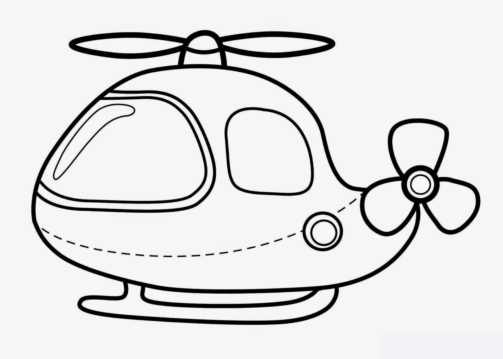 Kids Under 7: Vehicles Coloring Pages