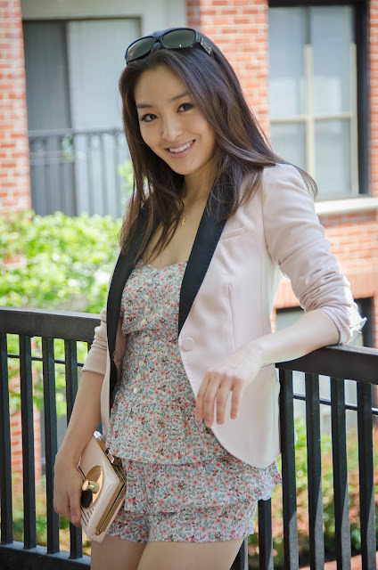 H&M tuxedo blazer