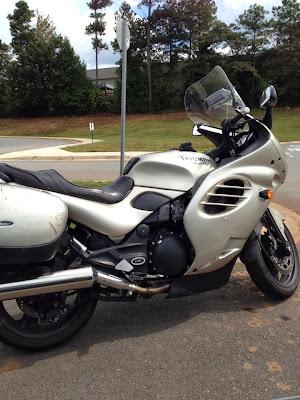 Tony Sarrecchia's first motorcycle