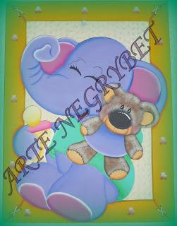 Arte negrybet cuadros para decoracion de cuartos infantiles - Cuadros para habitaciones infantiles ...