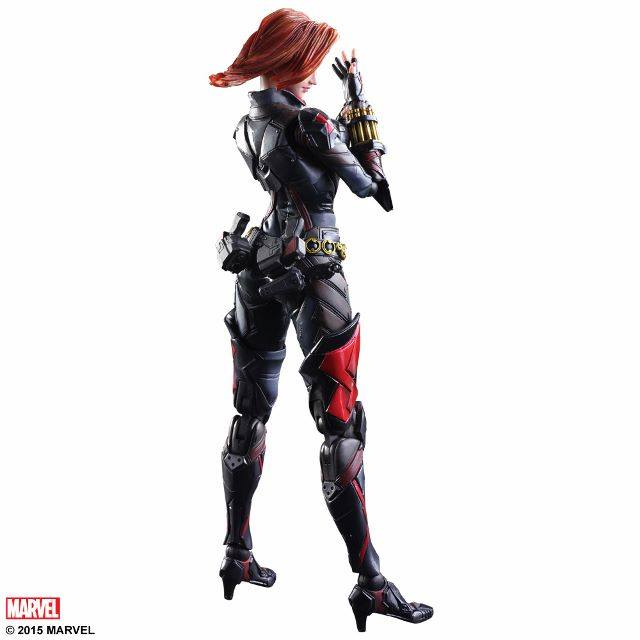 Play Arts Kai Black Widow Variant Action Figure Series