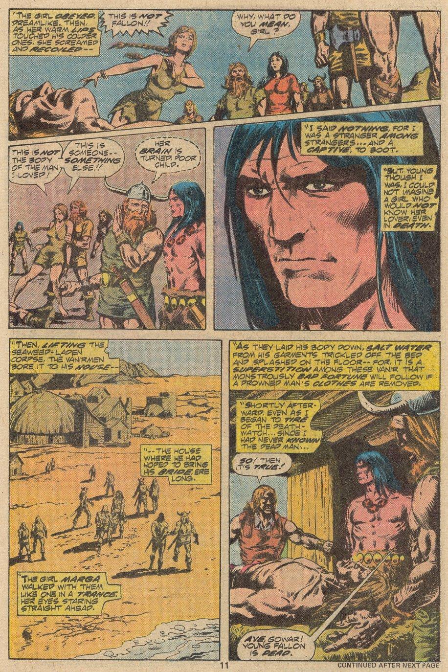 Conan the Barbarian (1970) Issue #69 #81 - English 8