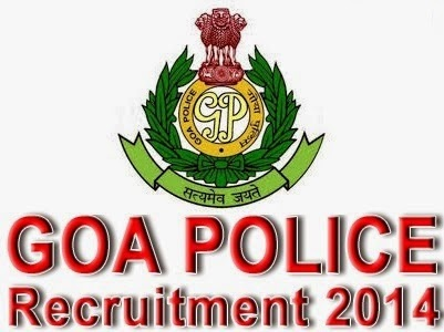Jobs in Goa Police 2014 Recruitment