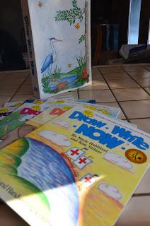 Draw Write Now books