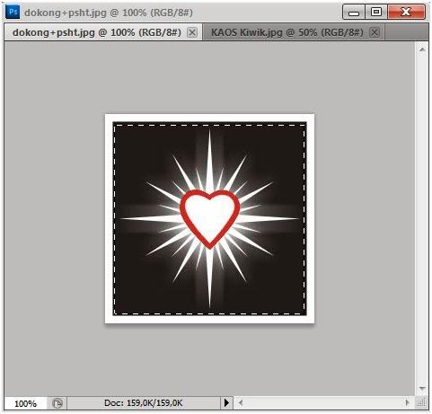 Blog Saudara22ku Cara Membuat Desain Kaos Sh Di Photoshop Cs5