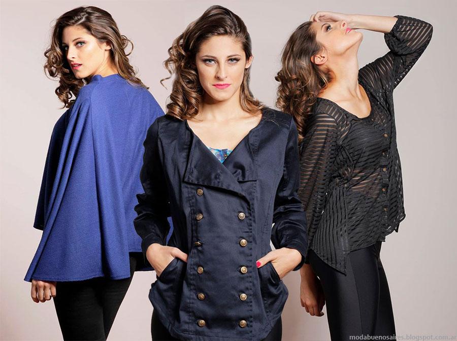 Moda invierno 2015: Empatía otoño invierno 2015 ropa de mujer casual urbana.