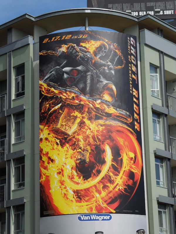 Ghost Rider 2 movie billboard