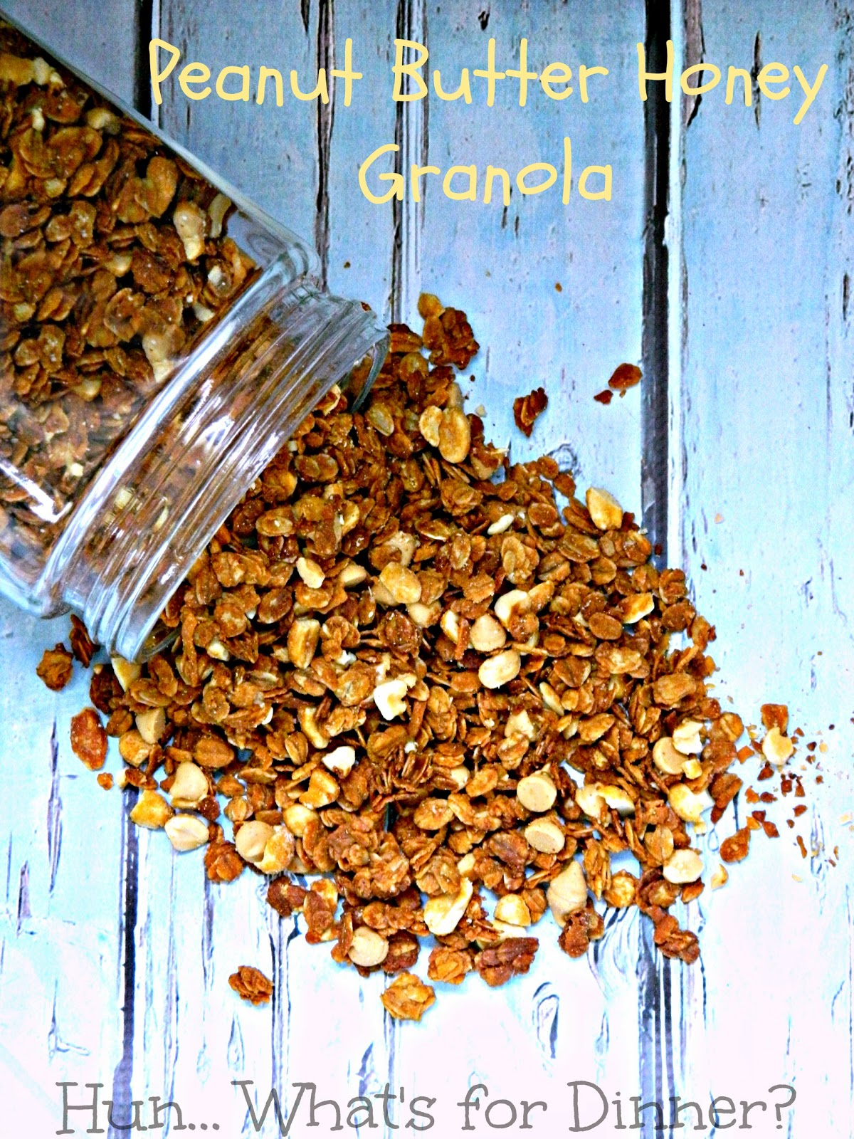 Peanut Butter Honey Granola