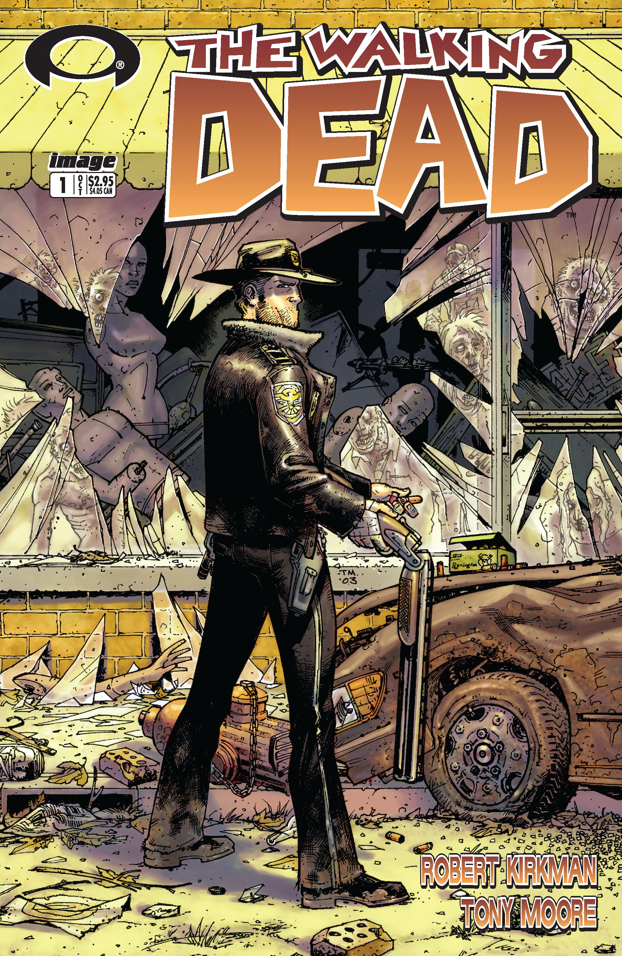 The Walking Dead Issue #1 Page 1
