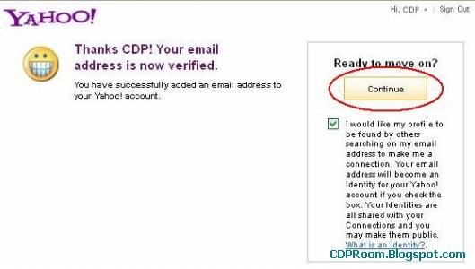 Verifikasi Email Lain