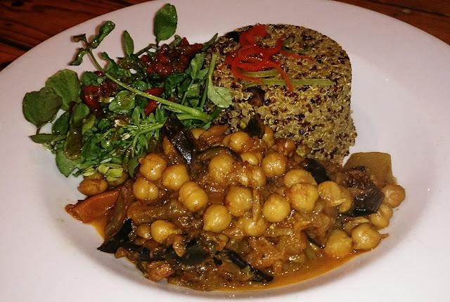 Shakahari, Carlton, Vegetarian, vegan, quinoa, chickpea stew