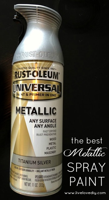 The BEST Metallic Spray Paint - creates the most realistic finish!!